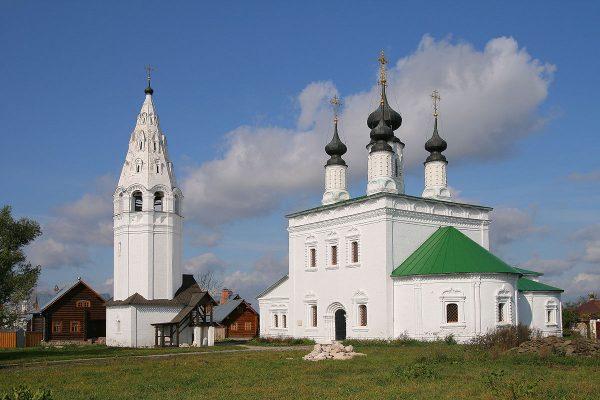 Колокольня и церковь Вознесения Господня