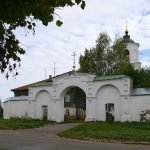 Святые ворота Свято-Васильевского монастыря