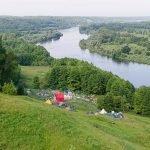 Панорамный вид фестивальной площадки