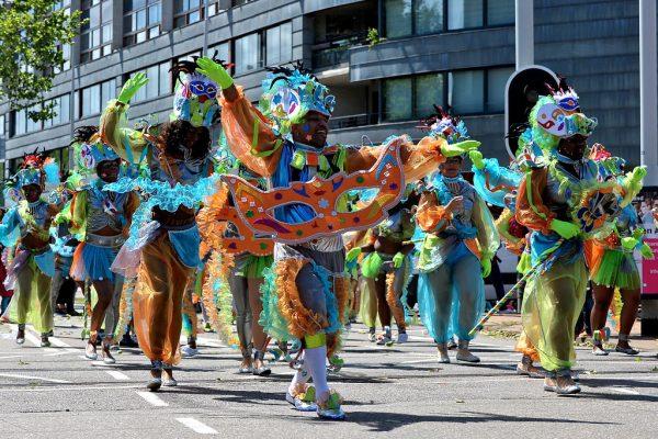 Карибский карнавал в Роттердаме