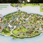 Карта зоопарка Коркеасаари в Хельсинки