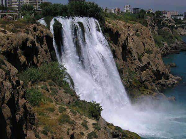 Дюденские водопады в Анталье