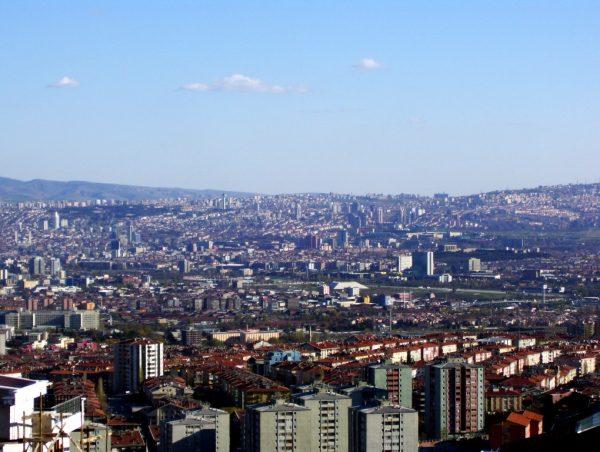 Вид на Анкару