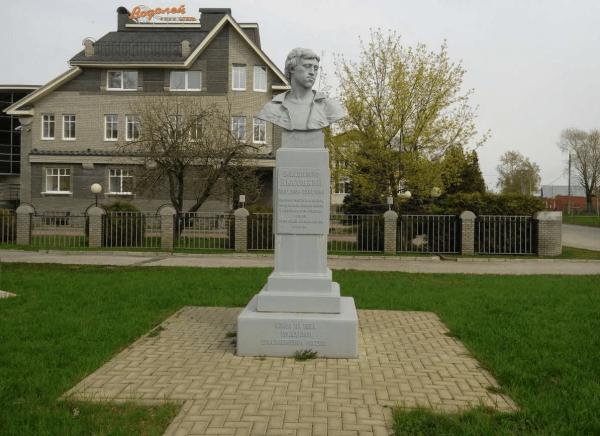 Памятник В. С. Высоцкому в Гороховце