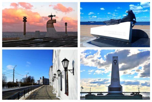 Набережная Северной Двины в Архангельске