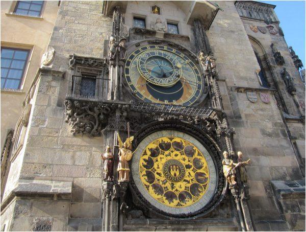 Часы на Староместской ратуше в Праге