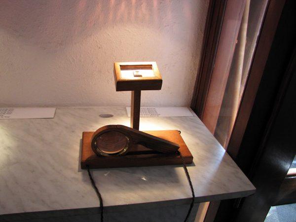 Один из экспонатов Пражского музея миниатюр