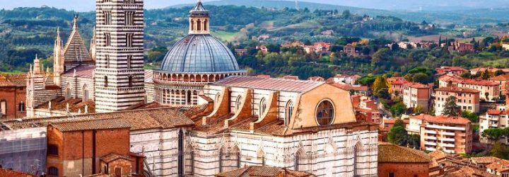 Сиена - средневековый город Италии
