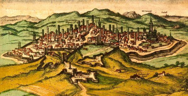 Территория Сиены в эпоху Средневековья