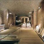 Экспонаты раскопок в археологическом музее