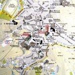 Карта с достопримечательностями Сиены