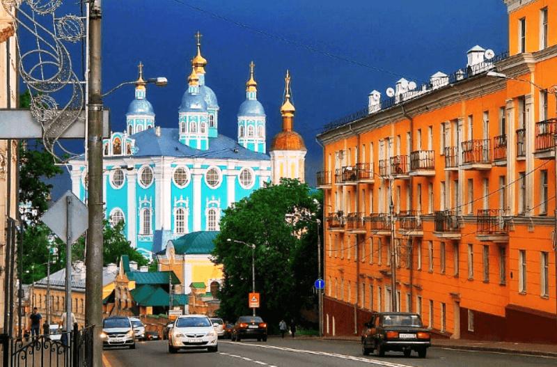 Смоленск: город-щит, город-воин