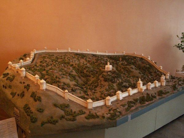 Модель Крепостной стены