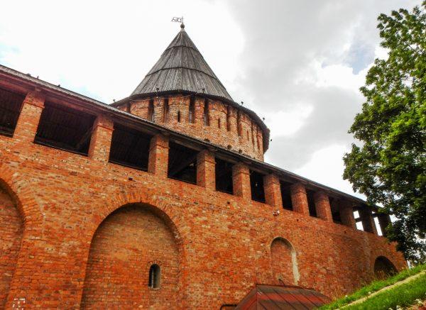 Вид на Громовую башню