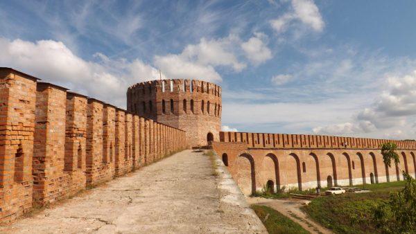 Восточная часть Смоленской крепости