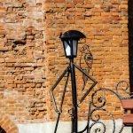 Живые фонари в Лопатинском саду: пират