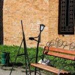 Живые фонари в Лопатинском саду: художник