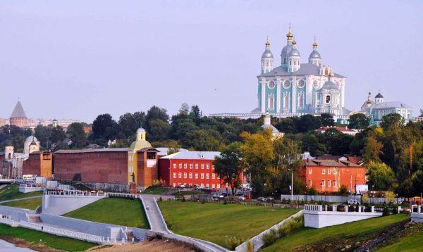 Вид на Смоленск