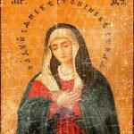 Молельная икона Серафима Саровского
