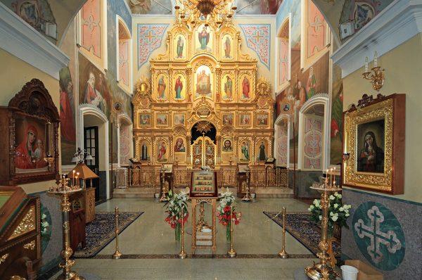 Иконостас Казанского собора в Дивееве