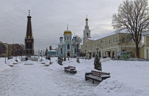 Зимний Малоярославец