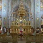 Внутреннее убранство Преображенского храма в Дивееве