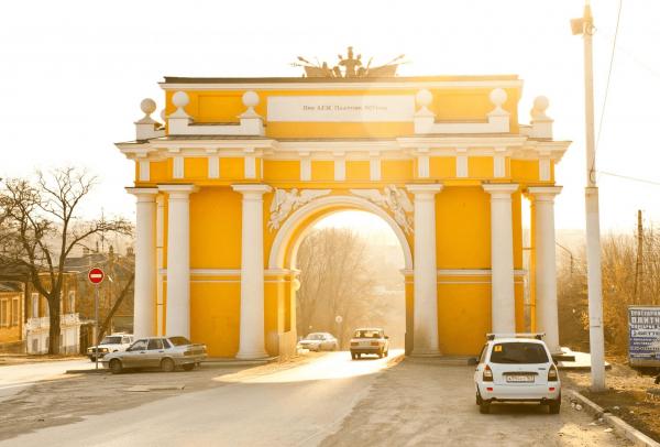 Западная арка