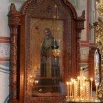 Икона Серафима Саровского в Преображенском соборе