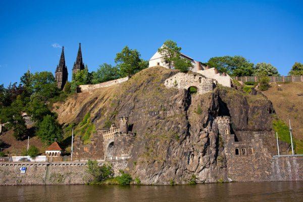 Крепость Вышеград в Праге