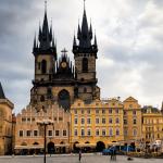 Вид на Староместскую площадь в Праге