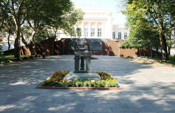 Площадь Победы в Новороссийске