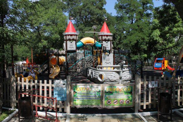 Детский городок в парке Ленина