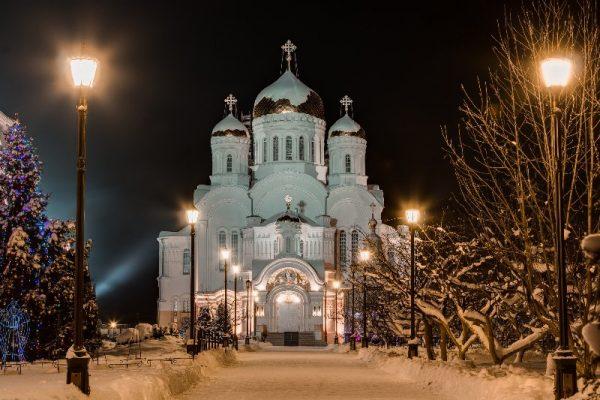 Преображенский собор на Рождество