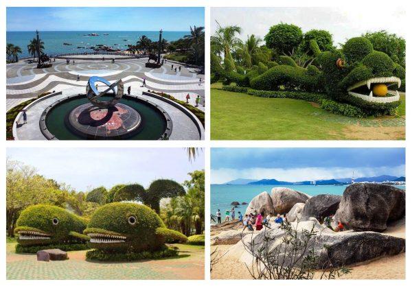 Парк «Край Света» недалеко от Саньи