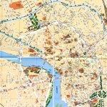 Подробная карта Тулузы с улицами и достопримечательностями