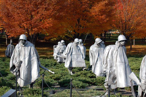 Мемориал ветеранов Корейской войны