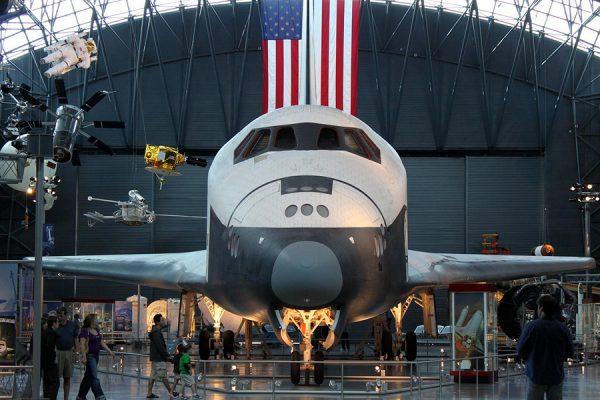 Экспонат в музее авиации и космонавтики
