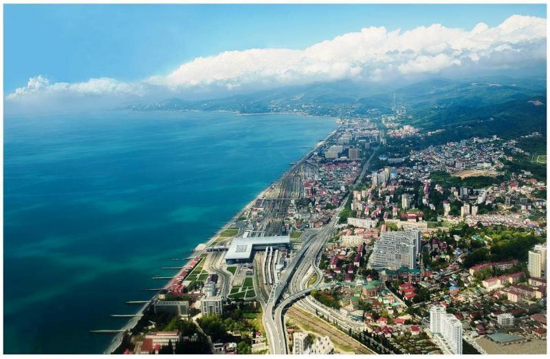 Адлер — жемчужина Чёрного моря