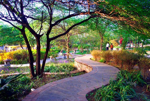 Сад пяти чувств в Дели