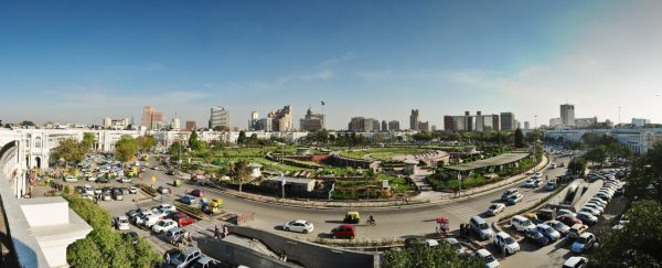 Район Коннот-Плейс в Дели