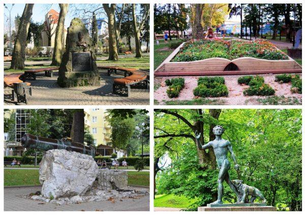 Парк имени Бестужева-Марлинского в Адлере