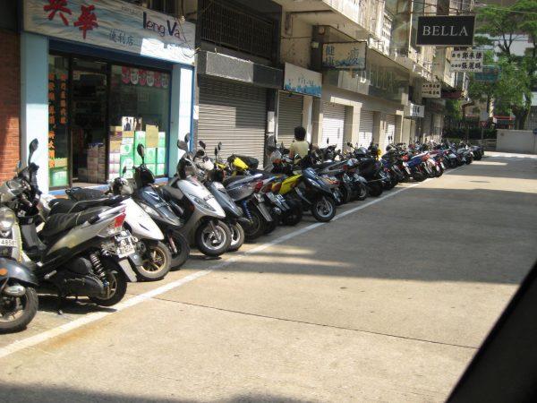 Мото-парковка