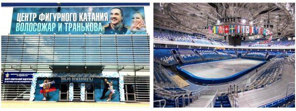 Каток в Олимпийском парке