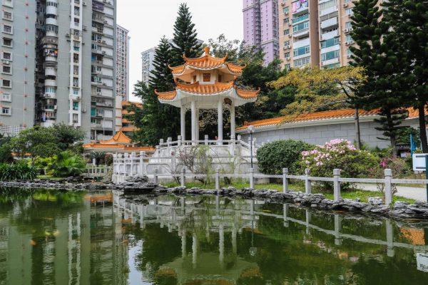 Беседка в парке Seac Pai Van