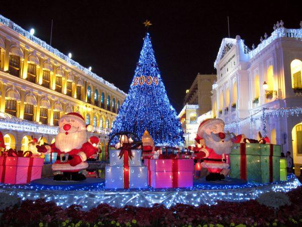 Рождество и Новый год в Макао