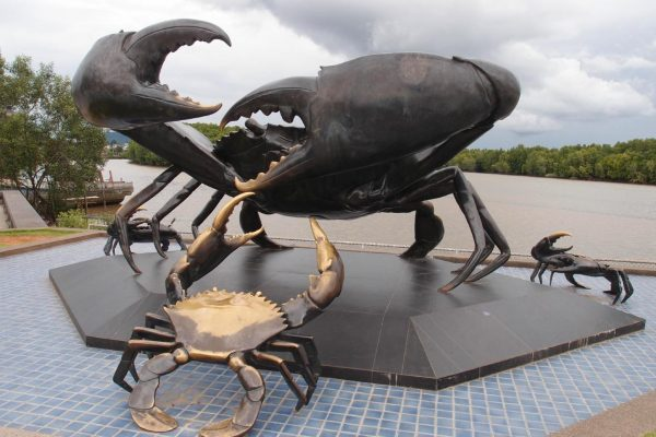 Скульптура Краби в Краби-тауне