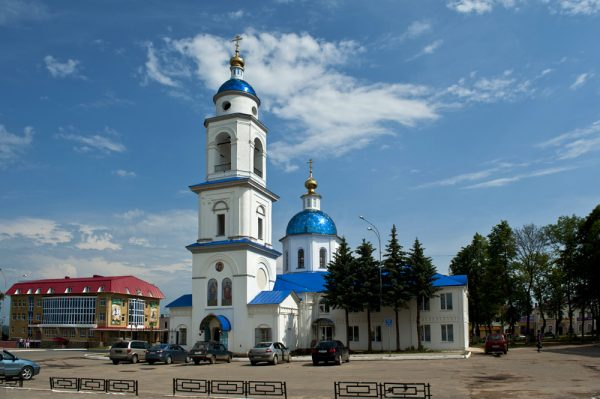 Собор Казанской иконы Божией Матери в Малоярославце