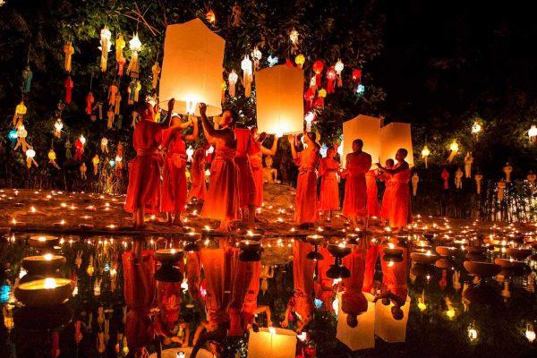 Праздник Лой Кратхонг в Краби