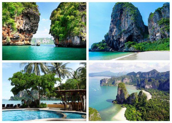 Полуостров Рейли в Таиланде