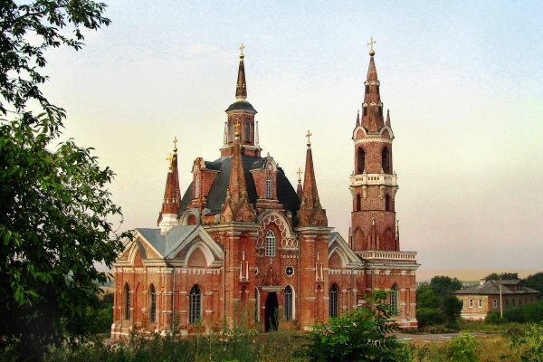 Знаменская церковь в Липецком районе